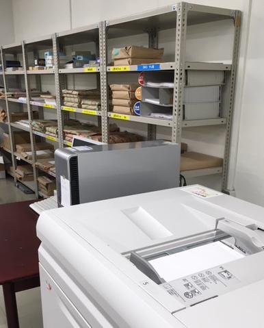 印刷用紙を守る